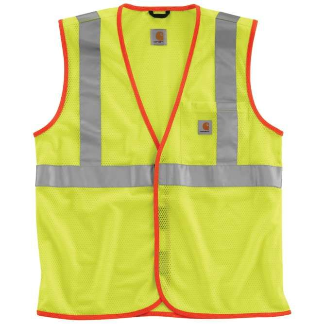 Carhartt High Visibility Class 2 Vest, 100501 Brite Lime Option