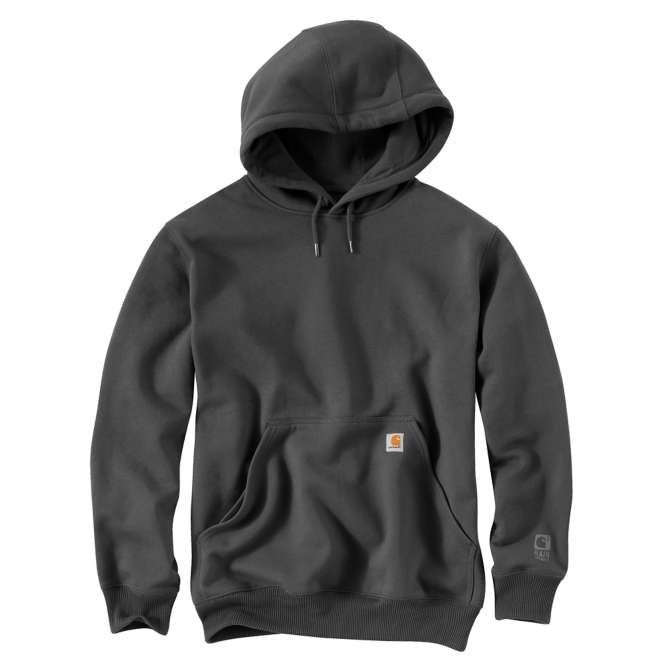 Carhartt Rain Defender Paxton Hooded Heavyweight Sweatshirt 100615 Carbon Heather