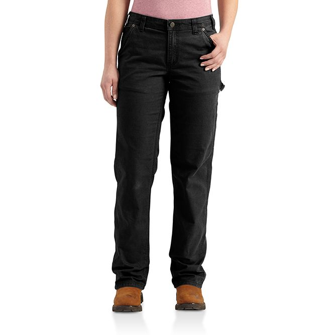 Carhartt Ladies Original Fit Crawford Pant, 102080 Black