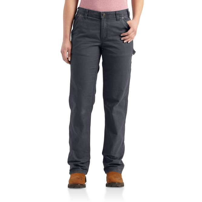 Carhartt Ladies Original Fit Crawford Pant, 102080 Coal Option