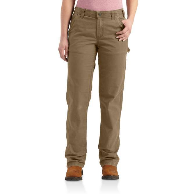 Carhartt Ladies Original Fit Crawford Pant, 102080 Yukon Option