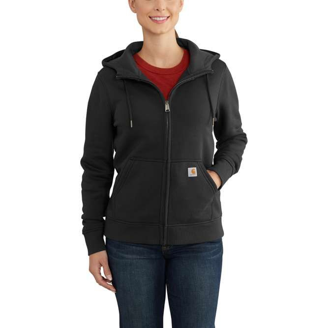 Carhartt Ladies Clarksburg Full‐Zip Hoodie, 102788 Black