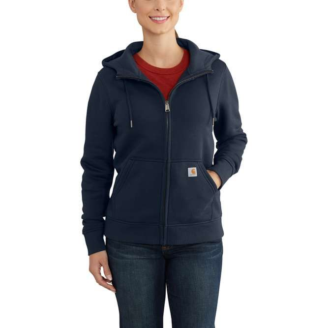 Carhartt Ladies Clarksburg Full‐Zip Hoodie, 102788 Navy Option