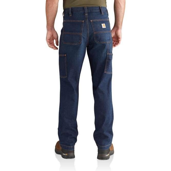 Carhartt Rugged Flex Relaxed Fit Dungaree Jean, 102808 Superior back