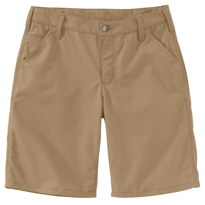 Carhartt Ladies Original Fit Rugged Professional Series Short, 103103 Dark Khaki Option