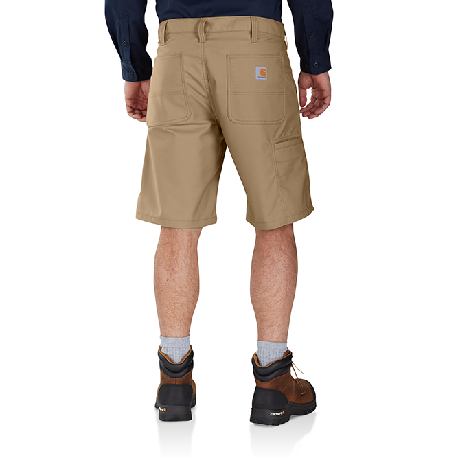 Carhartt Rugged Professional Series Men's Relaxed Fit Short, 103111 Dark Khaki Back
