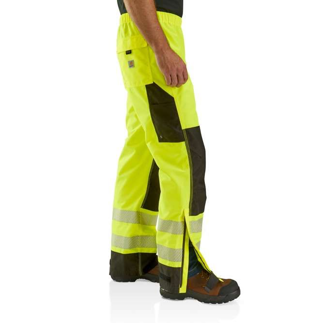 Carhartt High Visibility Class E Waterproof Pant, 103208 Side