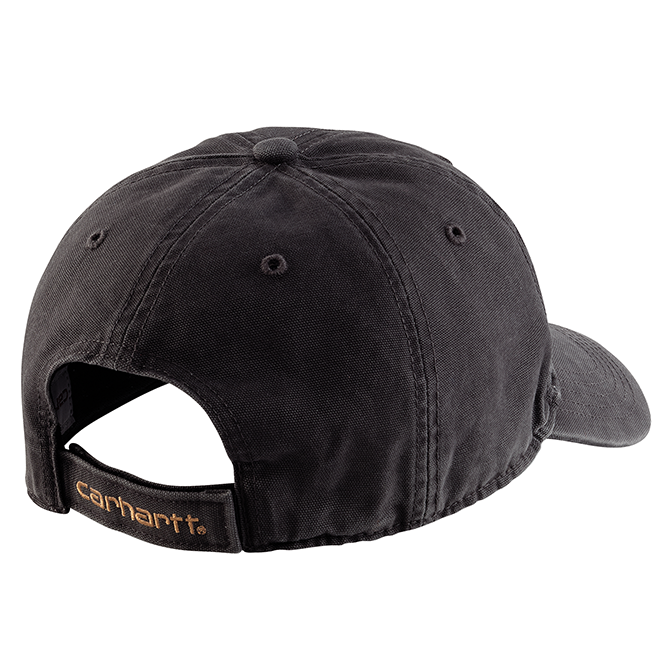 Carhartt Cotton Canvas Cap, 103938 Black Back