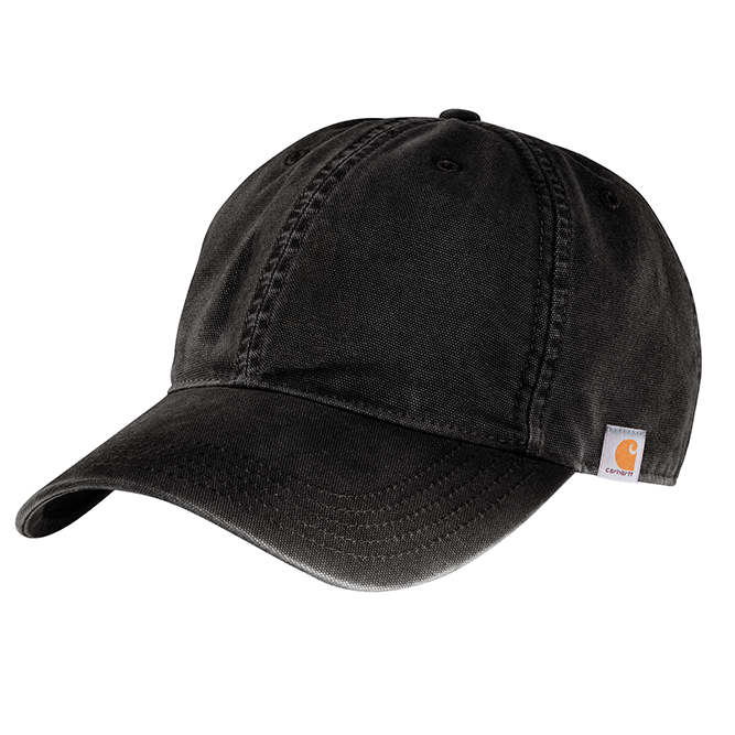 Carhartt Cotton Canvas Cap, 103938 Black