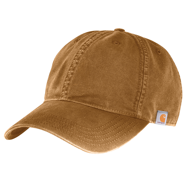 Carhartt Cotton Canvas Cap, 103938 Carhartt Brown option
