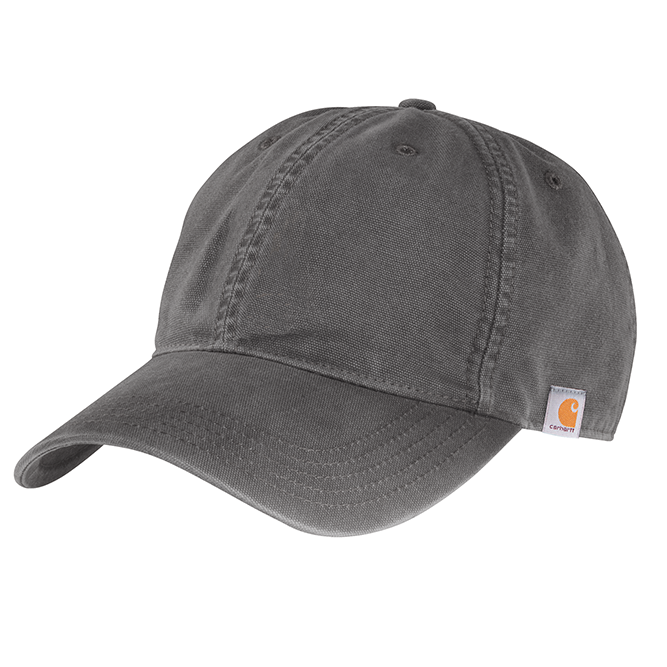 Carhartt Cotton Canvas Cap, 103938 Gravel option