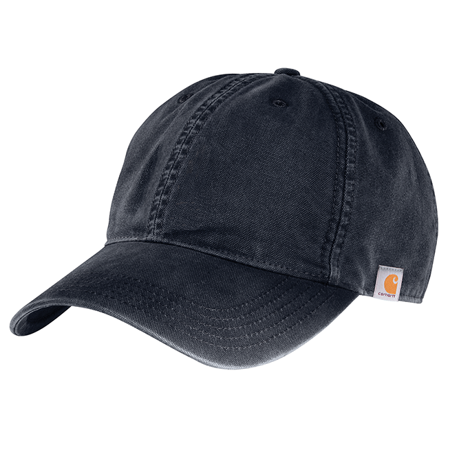 Carhartt Cotton Canvas Cap, 103938 Navy
