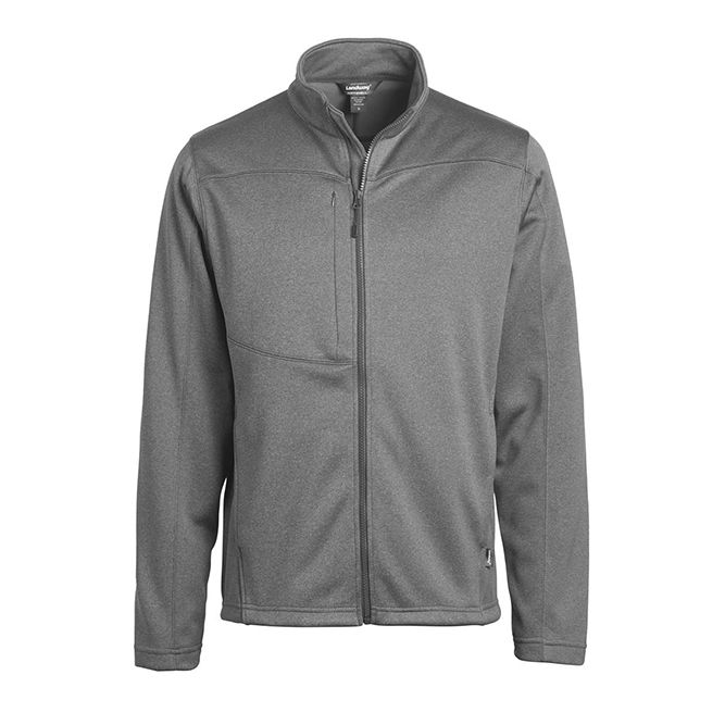 Landway Flash Bonded Fleece Soft Shell 2814 Dark Ash