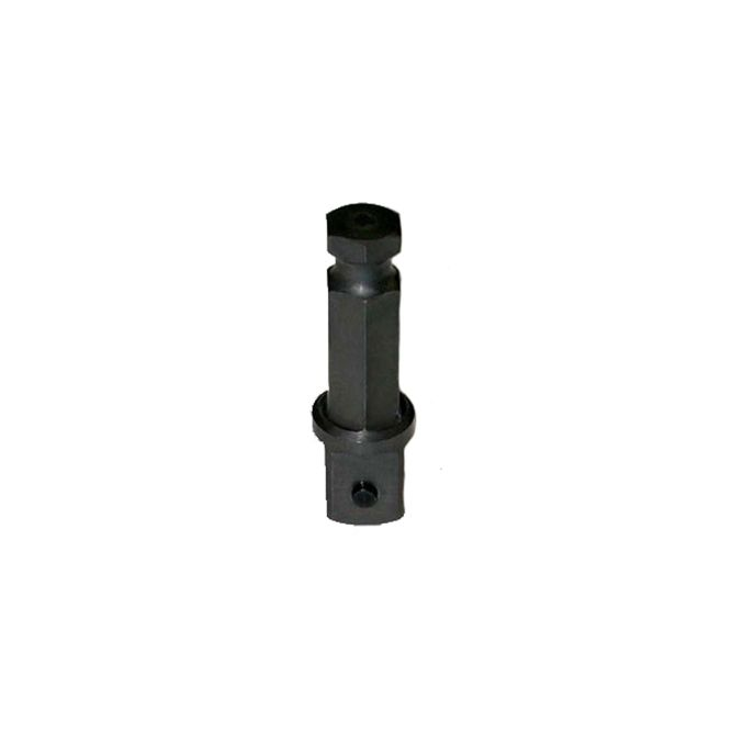 Wright Tool 1/2 inch Square to 7/16 inch Hex Pin Lock Adapter, 4422