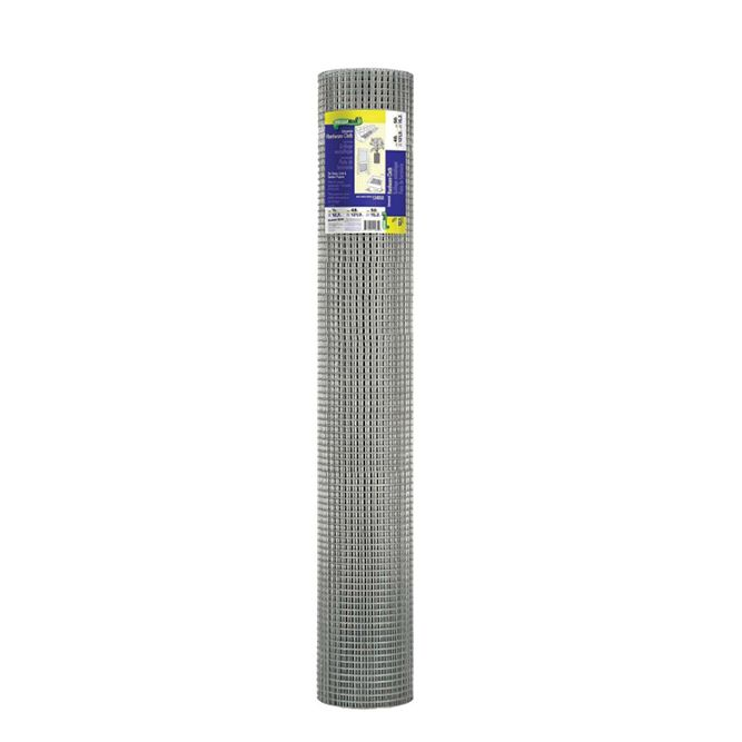 Garden Zone Roll of 100 foot, Cloth HDW 48 inch x 100 foot 1/2 inch, 5069083