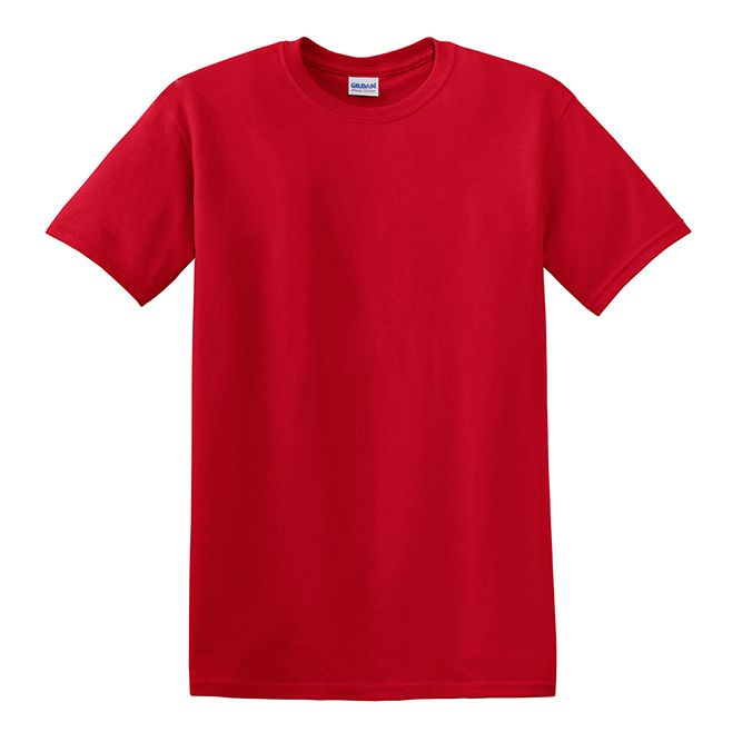 Gildan Heavy Cotton T‐shirt, 5000 Red Option